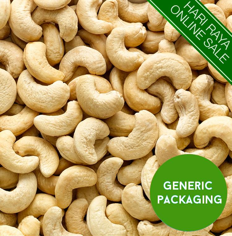 Natural Baked Cashews