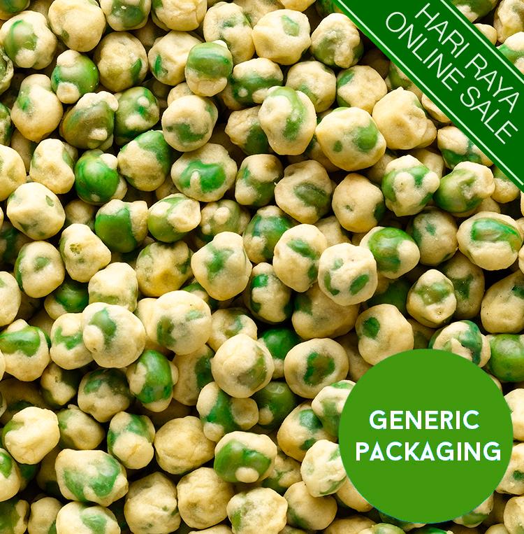 Coated Green Peas
