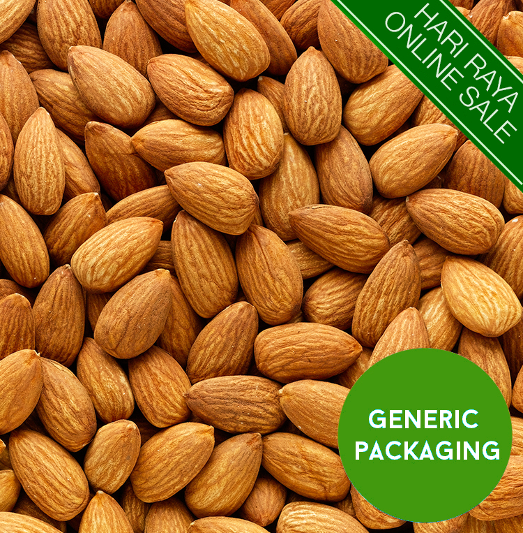 Natural Baked Almonds