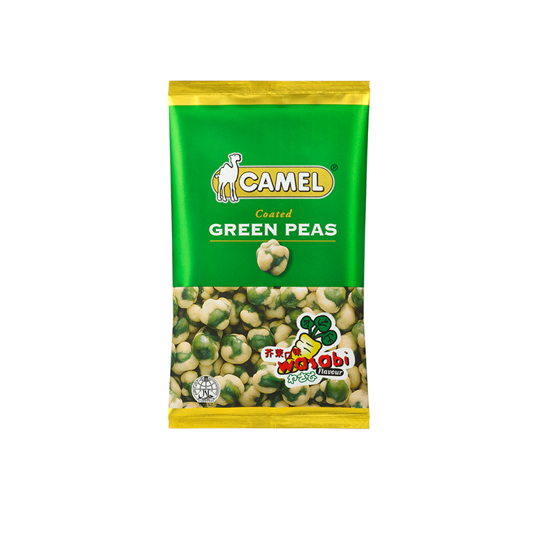 Wasabi Coated Green Peas