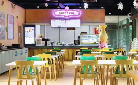 Loopy's Café for Kids at Pororo Park Singapore