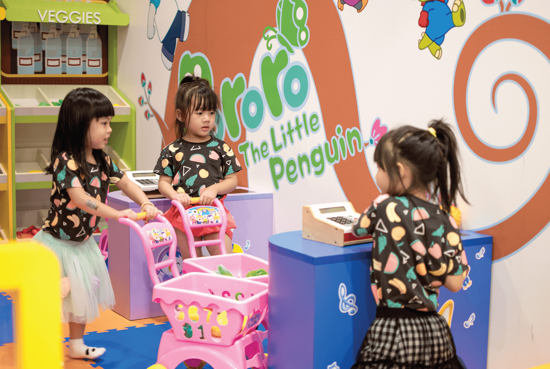 Petty Supermarket Attraction at Pororo Park Singapore