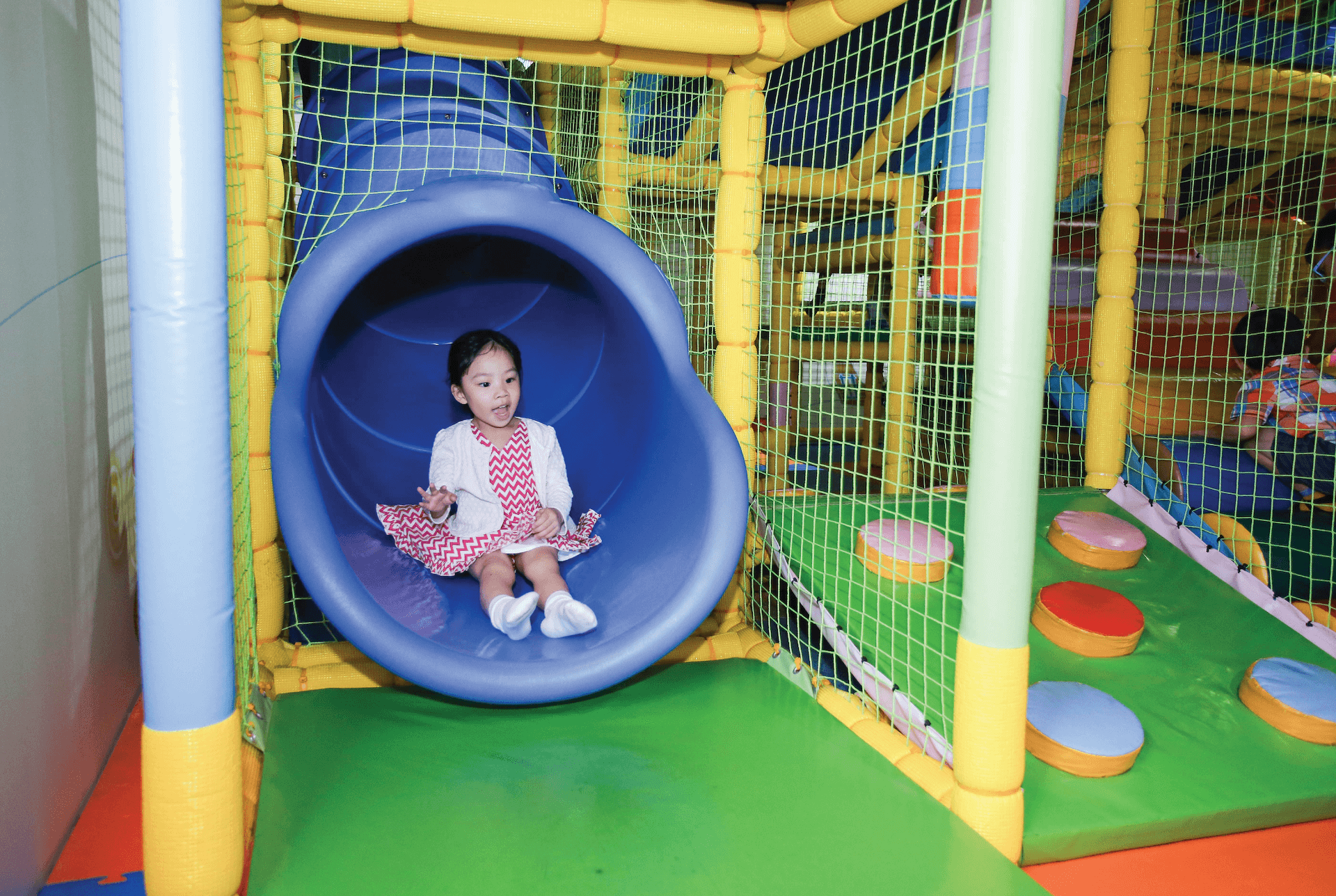 Poby's Jungle Gym Attraction at Pororo Park Singapore