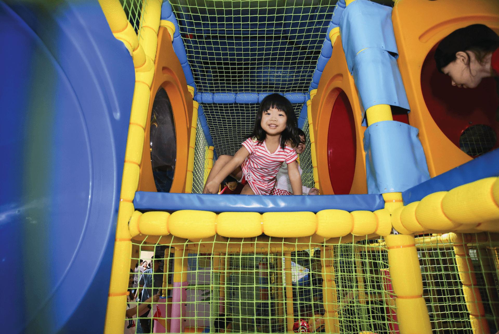 Poby's Jungle Gym Playground