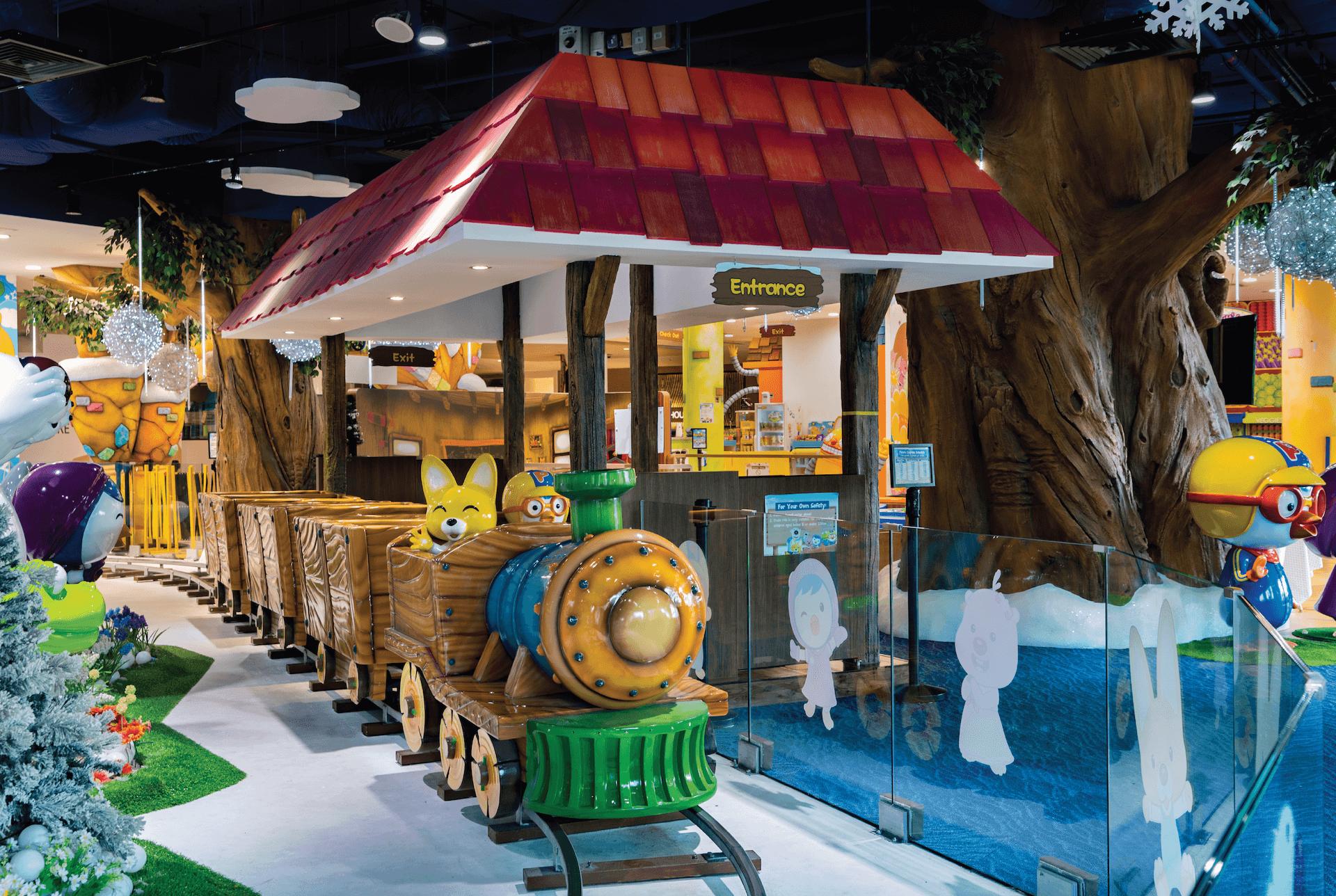 Pororo Express Train for Kids at Pororo Park Singapore