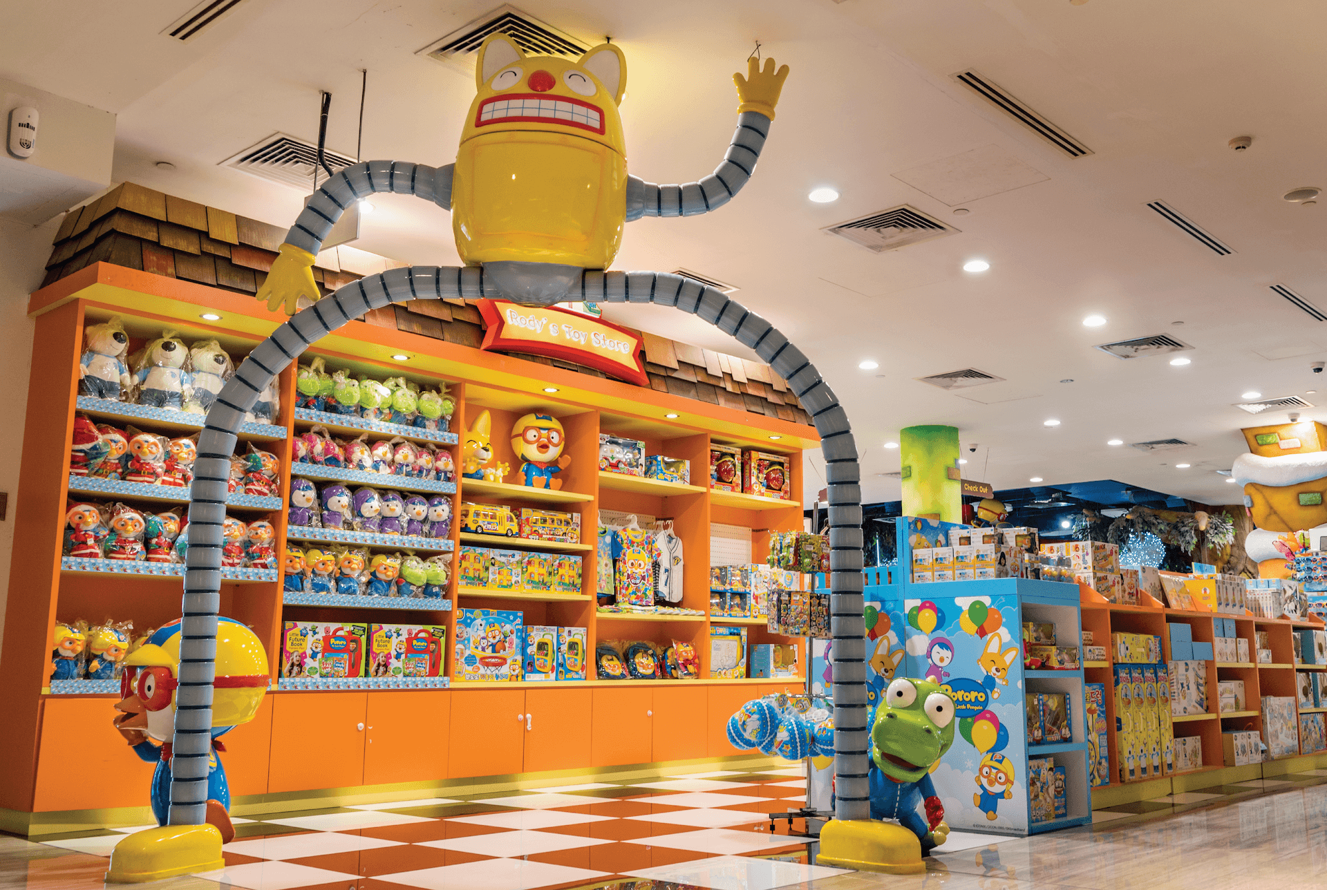 Rody's Toystore at Pororo Park Singapore
