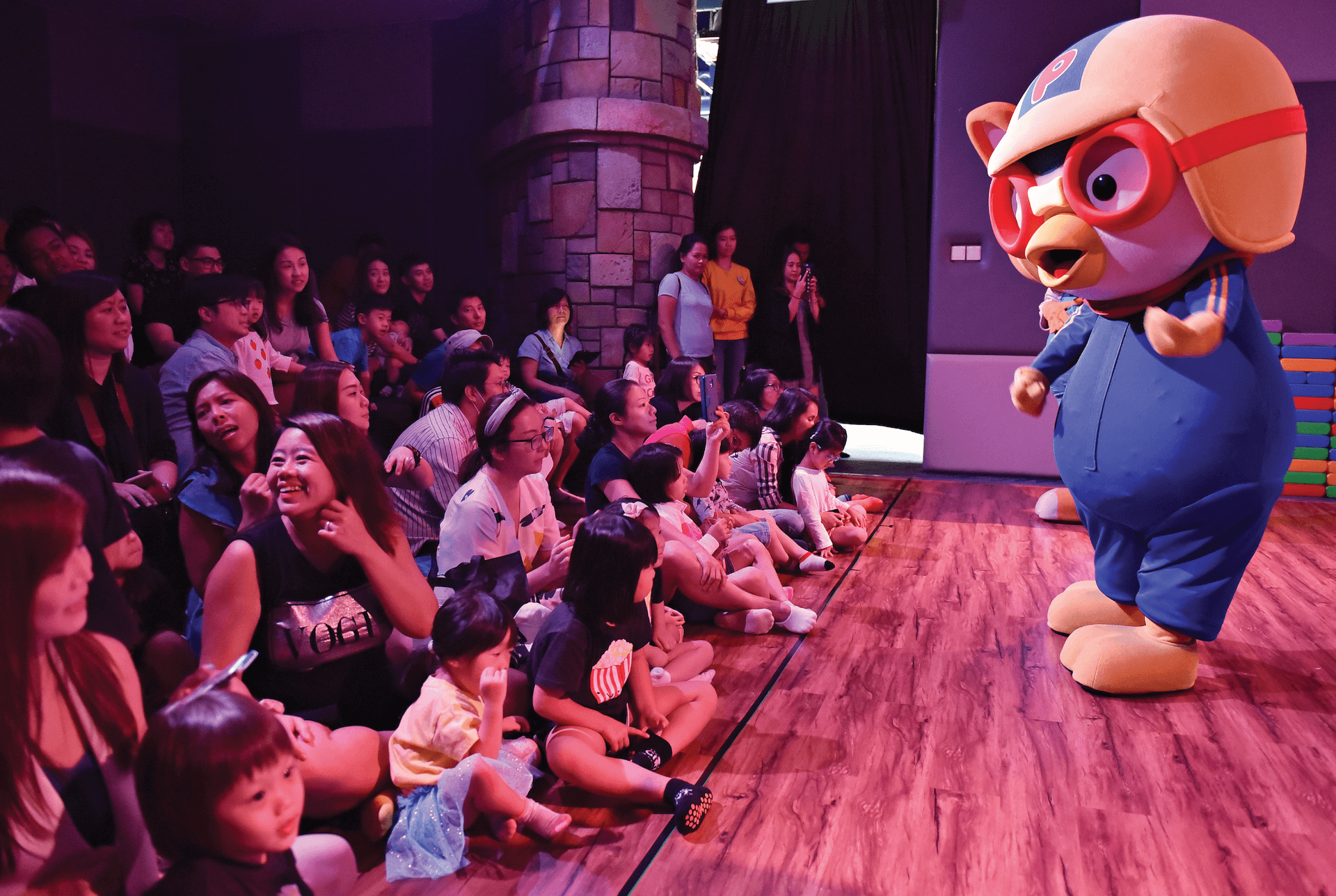Tong Tong's Little Theatre at Pororo Park Singapore