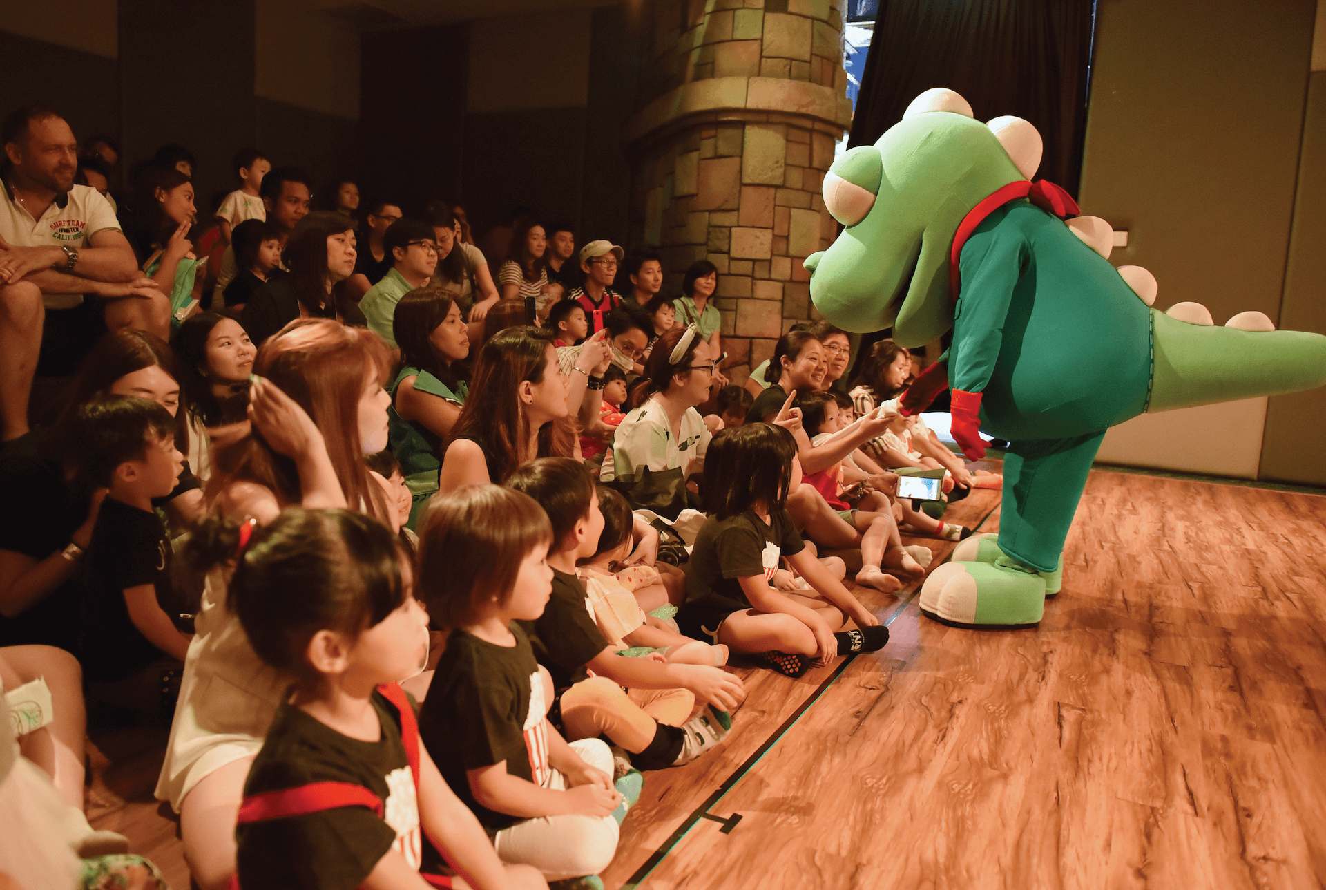 Tong Tong's Little Theatre for Kids at Pororo Park Singapore