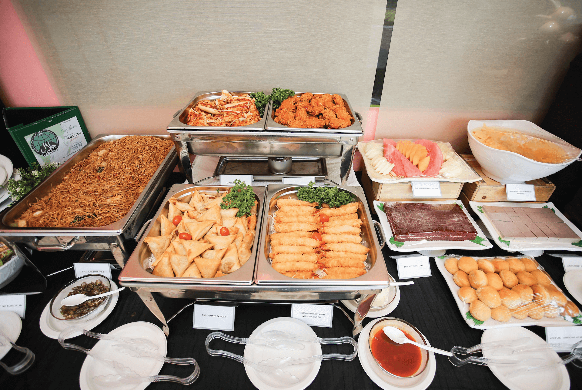 Birthday Party Add-Ons - Adult Buffet Catering | Pororo Park Singapore