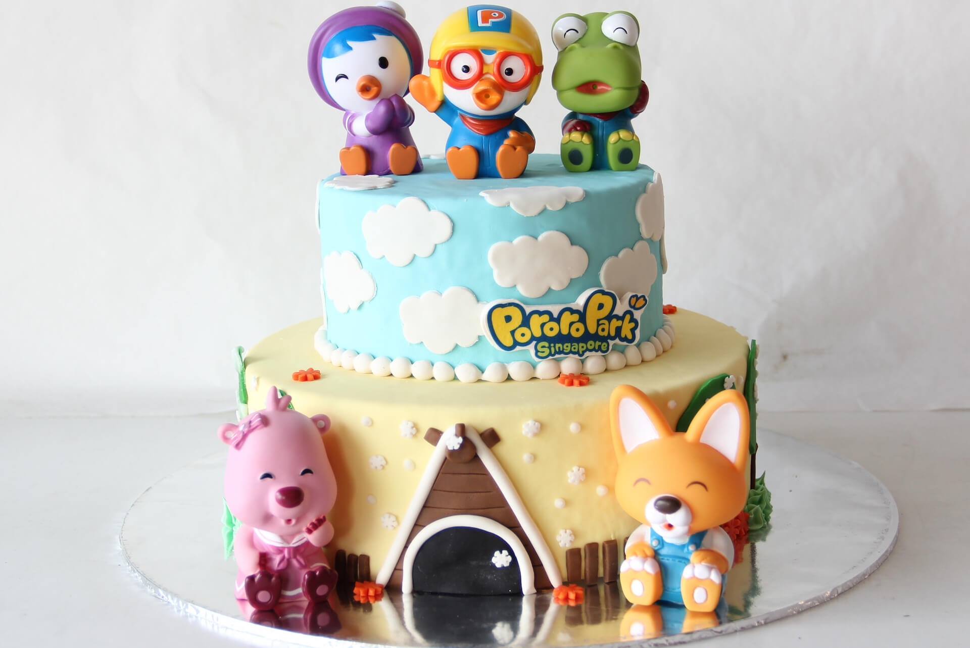 Birthday Party Add-Ons - Cake | Pororo Park Singapore