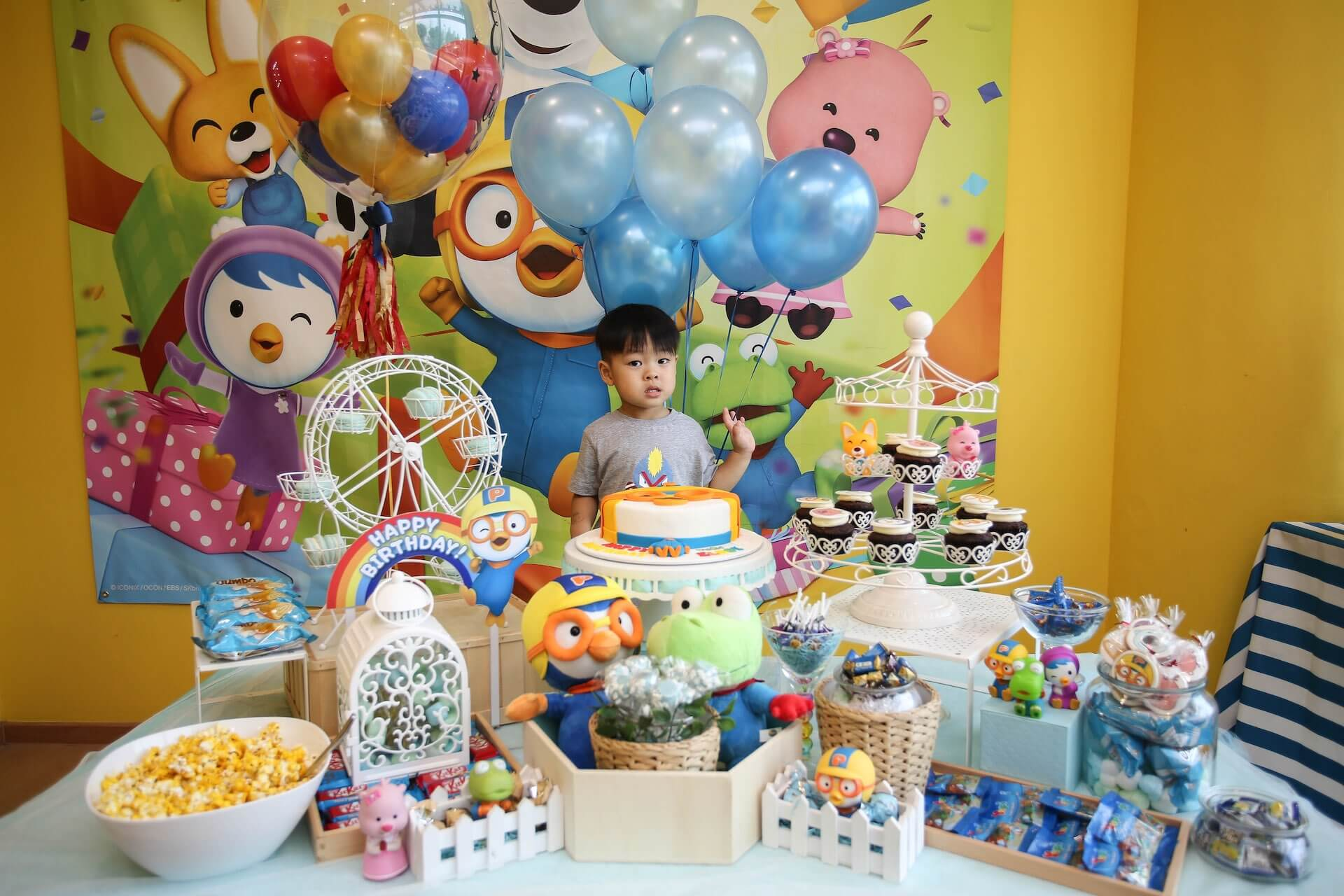 Birthday Party Add-Ons - Dessert Table | Pororo Park Singapore