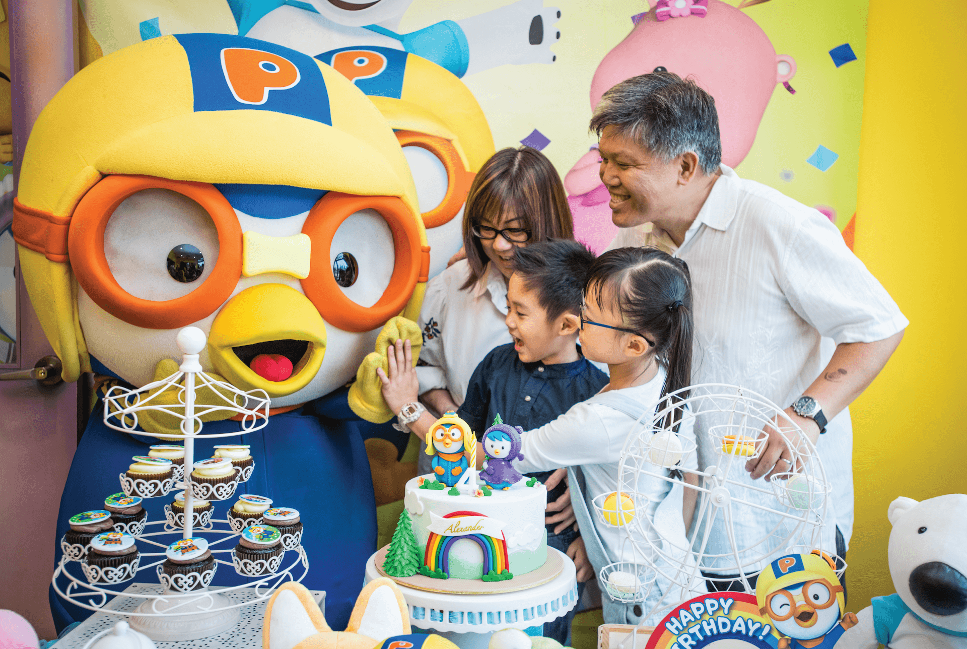 Birthday Party Add-Ons - Additional Mascot Appearance | Pororo Park Singapore