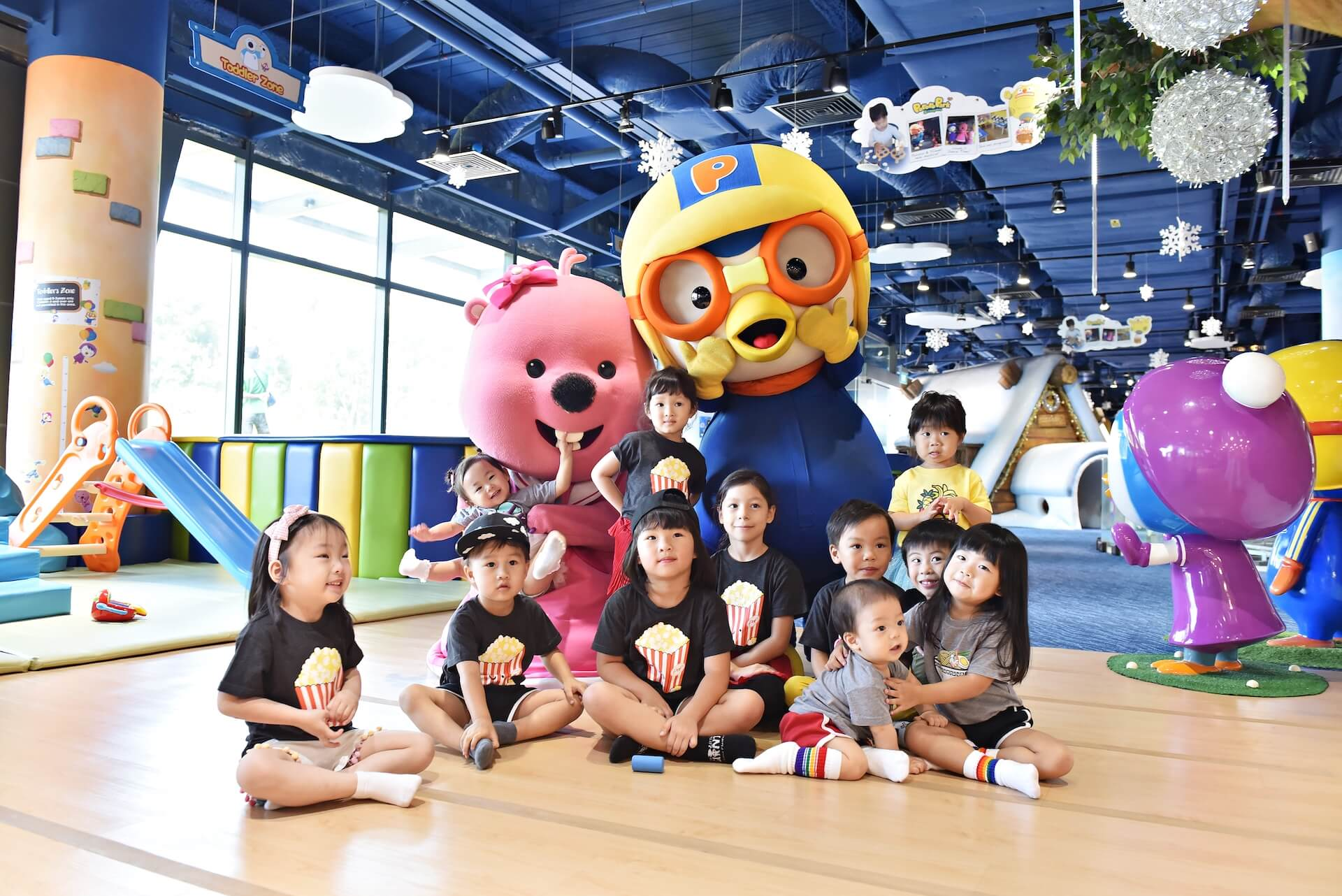 Pororo Friends at Pororo Park Singapore