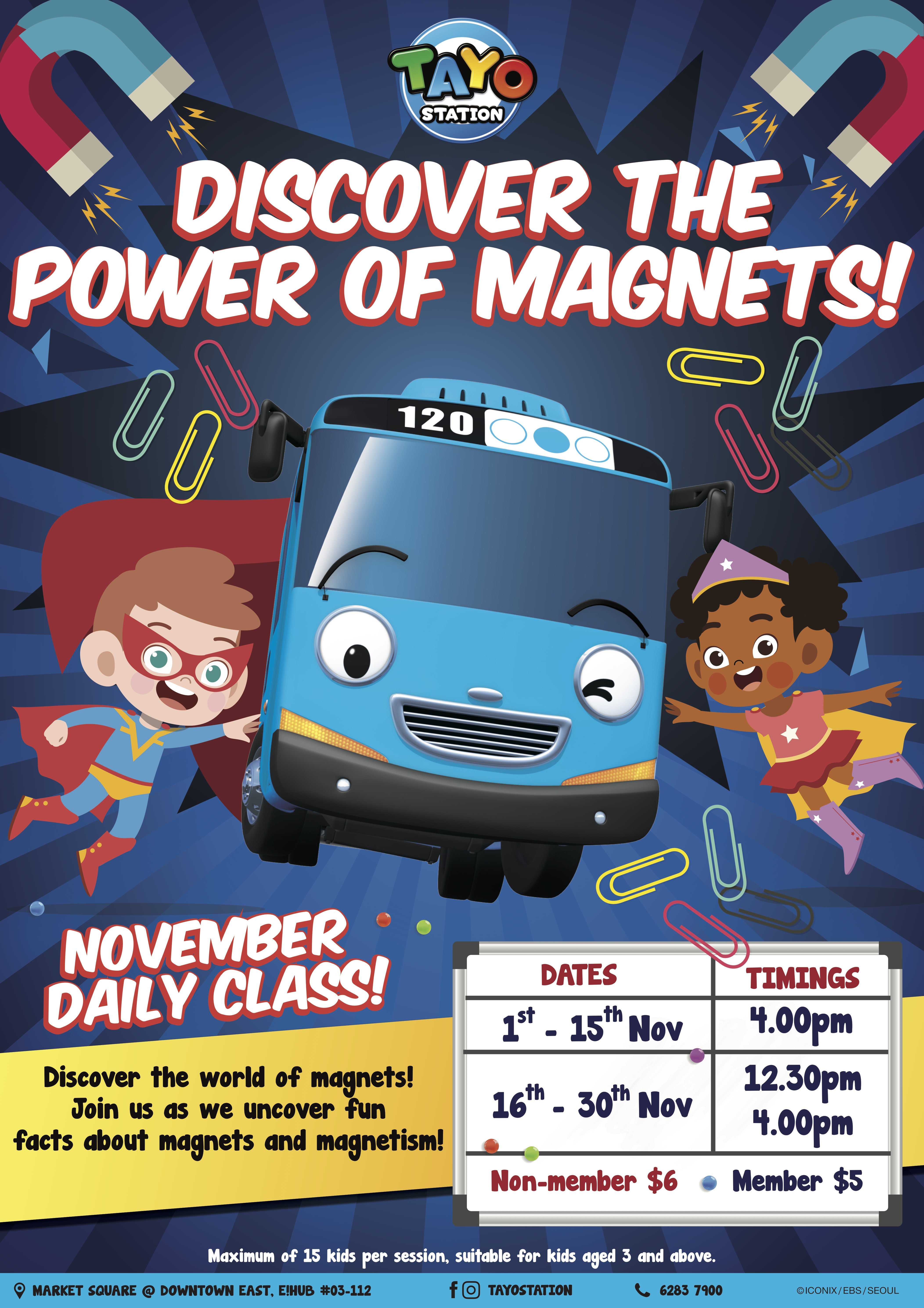 Discover Power of Magnets  | Tayo Station