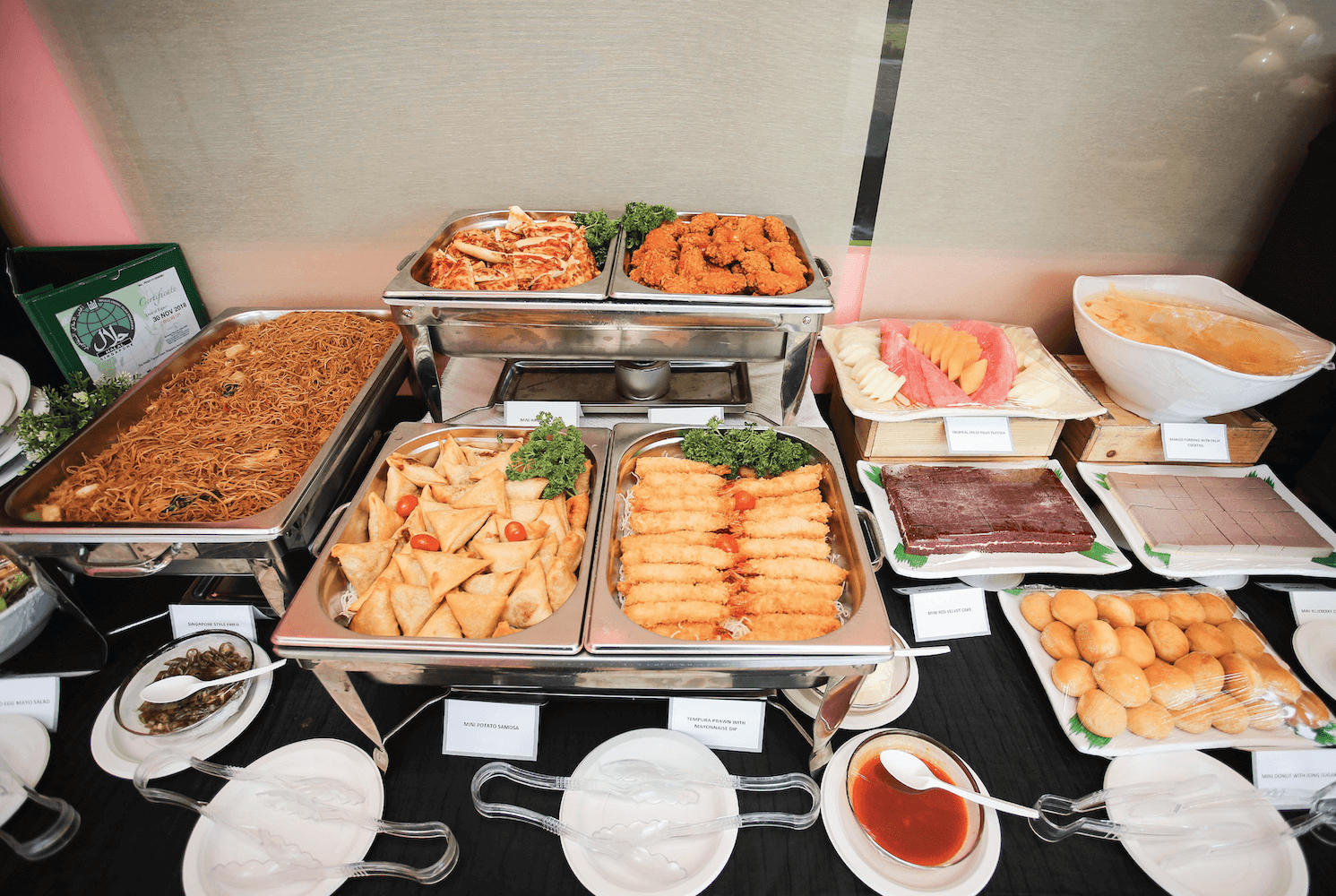 Adult Buffet Catering | Tayo Station