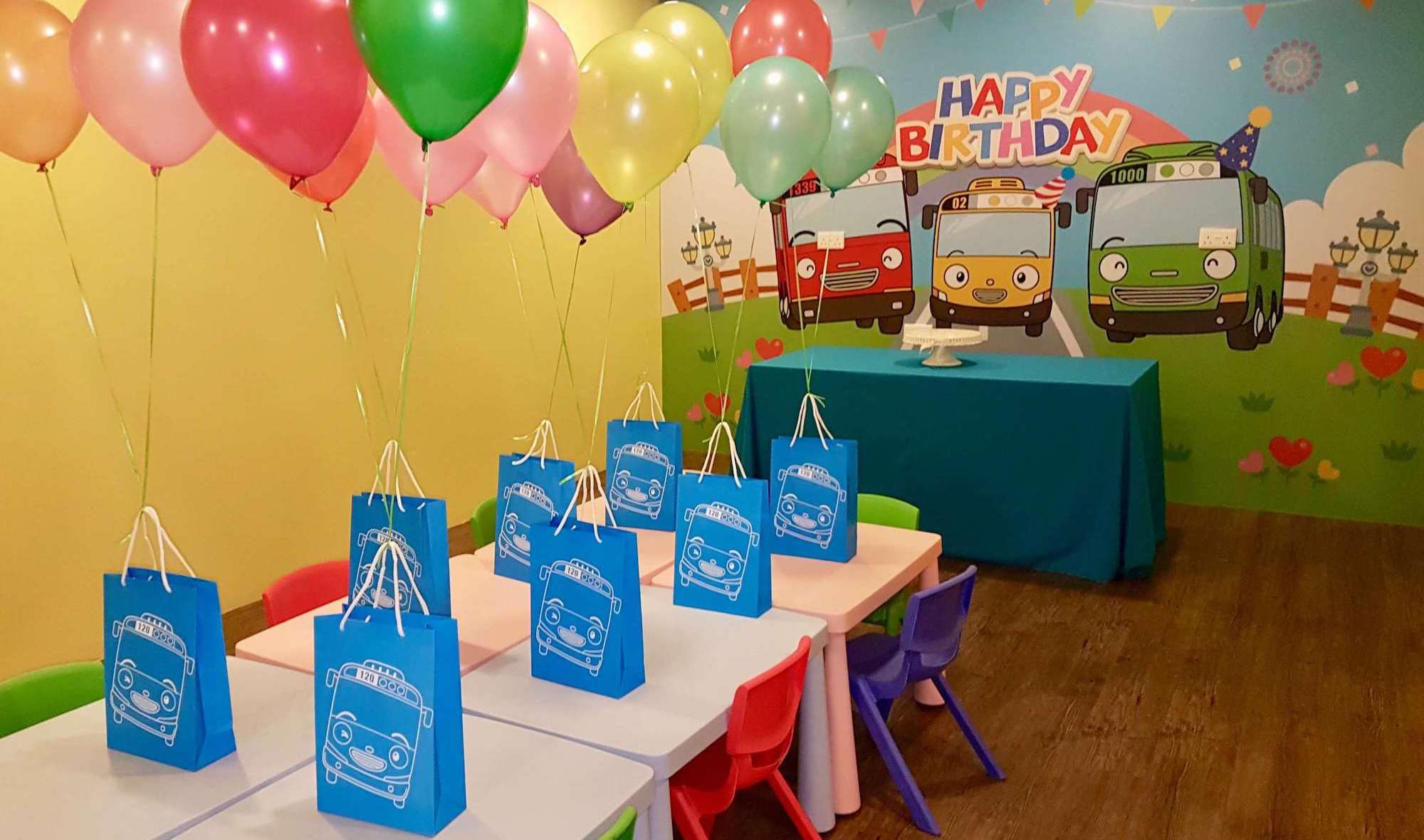 Birthday Package At Tayo Station