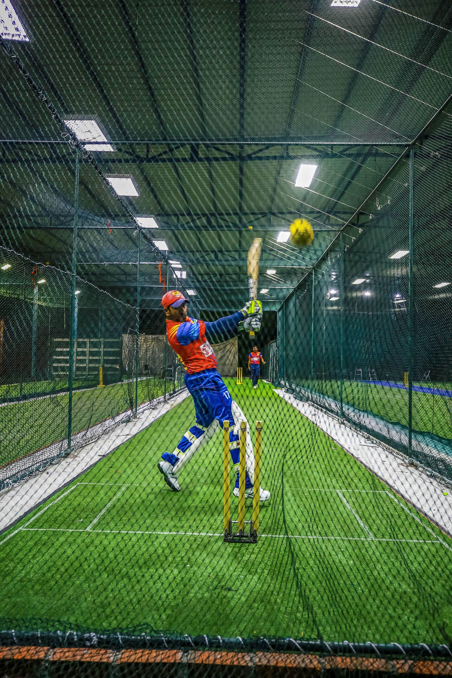 The Cage - Turf City | Cricket Nets